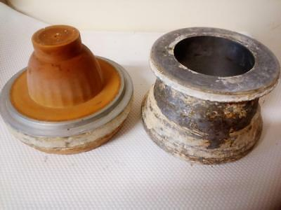 Pottery Master Mold Metal Cast Rubber Mold Oban Tea Cup Ceramic Production Cast