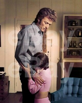 Play Misty For Me (1971) Clint Eastwood, Jessica Walker 10x8 Photo
