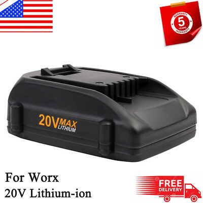For Worx WA3520 20-Volt 2.0Amp Hour Max Lithium Battery WA3525 WG151s WG155s NEW