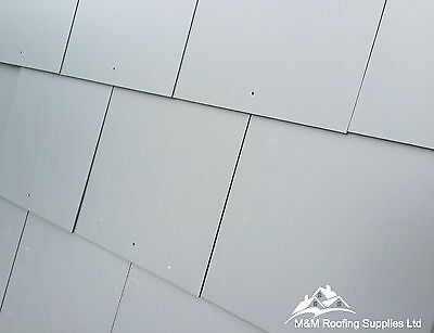 Fibre Cement Slates | Roof Tiles | SMOOTH & SQUARE EDGE | BLUE BLACK | 600x300mm