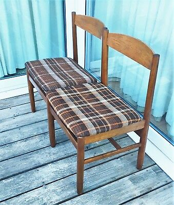 Pair of good quality mid century Danish style chairs (ref 18.6.039)
