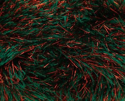 Christmas shade 1783  in  king Cole tinsel chunky  50g balls