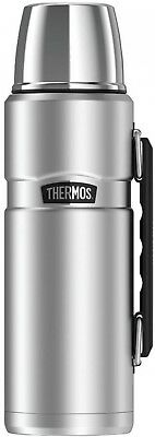 Thermos SK2010STTRI4 Stainless King Vacuum-Insulated Beverage Bottle, 40 oz,