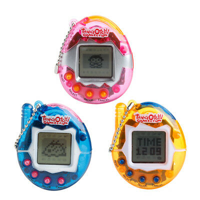 90S Nostalgic 49 in 1 Virtual Cyber Pet Game Child Toy Key Tamagotchi Buckles