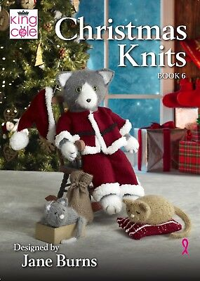 Christmas knits book 6 New from King Cole