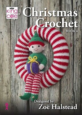 Christmas crochet book 4 New from King Cole
