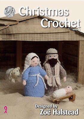 Christmas crochet book 3  from King Cole