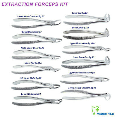 Dental Surgical Tooth Extracting Forceps Oral Extraction Plier forcep for Roots