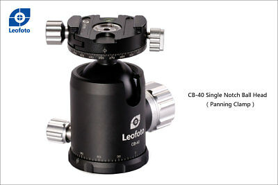 Leofoto Pro Ball Head With Panning Clamp Cb-40 (Double-Action)