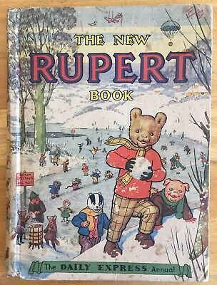 RUPERT ORIGINAL ANNUAL 1951 Inscribed in pencil Not Price Clipped G/VG