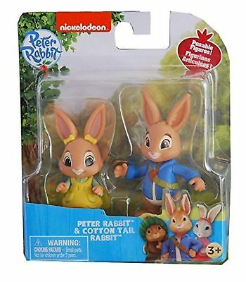 Peter Rabbit Toys Figures Figurines Collectable Peter Rabbit and Cotton Tail