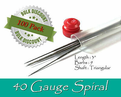 40 Gauge Spiral felting needles - Wholesale