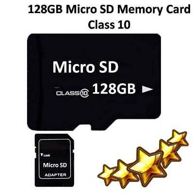128GB Micro SD Card Class 10 TF Flash Memory SDHC 128 G For Phone Tablet Device
