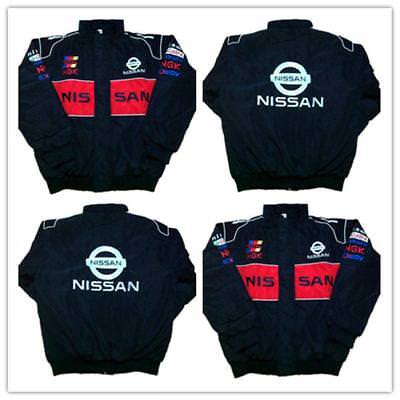 new 2018 NISSAN black Embroidery EXCLUSIVE F1 team racing JACKET suit