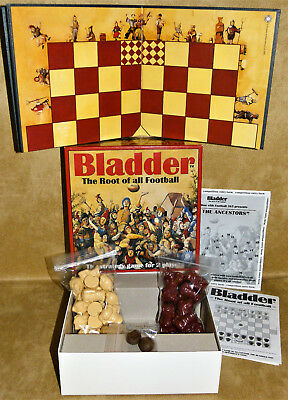Bladder Board Game : The Root of all Football : Game complete Purkess / Brittain