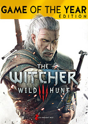The Witcher 3:Wild Hunt - Game of the Year Edition PC Steam No Key Global Multi