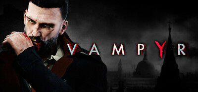 Vampyr PC Steam No Key Code Global Multi Digital Download Region Free