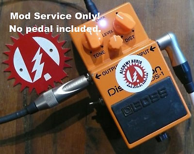 Modify your Boss DS-1 Distortion (Synth Fuzz) Mod service Only! Alchemy Audio.