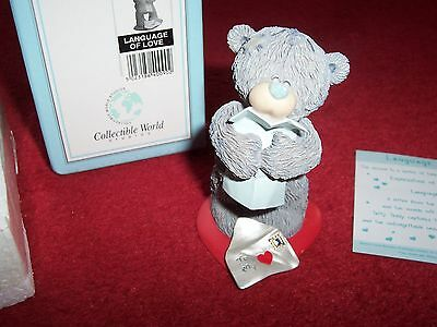 Me To You Language of Love Teddy & Love Letter (Best Lover / Girlfriend/Partner)