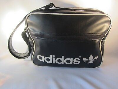 Vintage ADIDAS Sports Bag Navy RARE Holdall Retro Weekender 70s CASUALS dfec8c2c3f55b