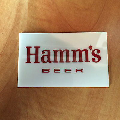 NEW Logo Plate for Hamm's Beer Dusk to Dawn Beer Sign - Hamm's Sunrise to Sunset