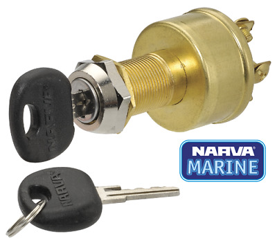 Narva Ignition Switch 4 Position 64012