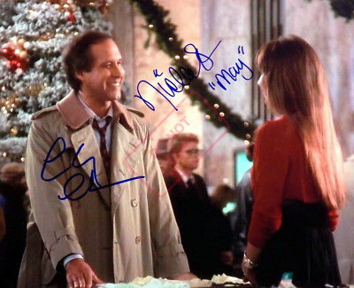 REPRINT 8.5x11 Signed Photo:Christmas Vacation Chevy Chase Nicolette Scorsese