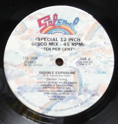 DOUBLE EXPOSURE- TEN PER CENT percent - Salsoul 12D 2008 year 1976