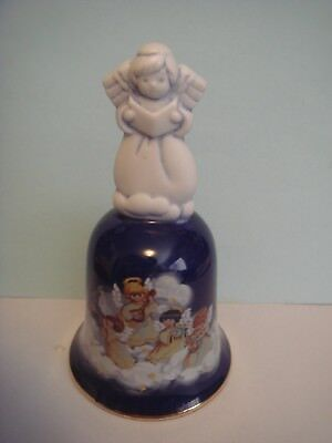AVON Christmas 1992 Porcelain Angel Bell