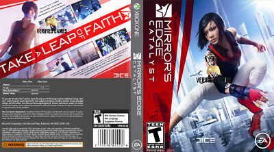 Mirrors Edge Catalyst (Xbox One S X) Replacement Case, No Game