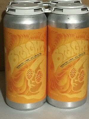 "Tree house Brewing Bright with Citra Doubla IPA DIPA - 4 ""Empty"" Cans FRESH"