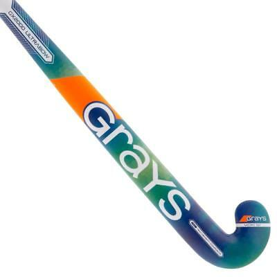 Grays GX 2000 Ultrabow Micro 50 Degrees Hockey Stick, Blue Colour