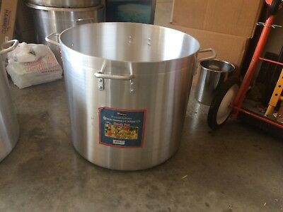 WinCo Alhp-120 Precision Stock Pot 120 Quart Without Cover
