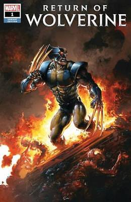 Marvel Return of Wolverine #1 Variant Cover A by Clayton Crain Ltd to 3000 Comic