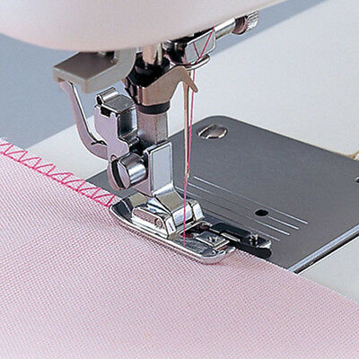 KD_ Overlock Overedge Overcasting Sewing Machine Presser Rolled Hem Foot Tool