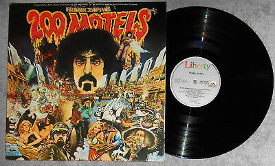 FRANK ZAPPA, 200 Motels, Original 1971 France Import, Psych 2 LP Set , NM Vinyl