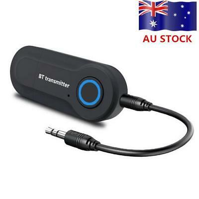 3.5MM USB Powered Wireless Bluetooth Transmitter Stereo Audio TV Adapter For PC