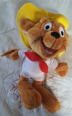 """Looney Tunes Warner Bros. Famosa Speedy Gonzales Mouse 12"""" Plush Whiskers & Tail"""