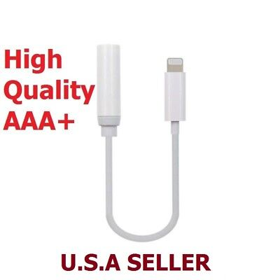 New Apple Lightning to 3.5mm Headphone Jack Adapter A1749 for iPhone X 8 7