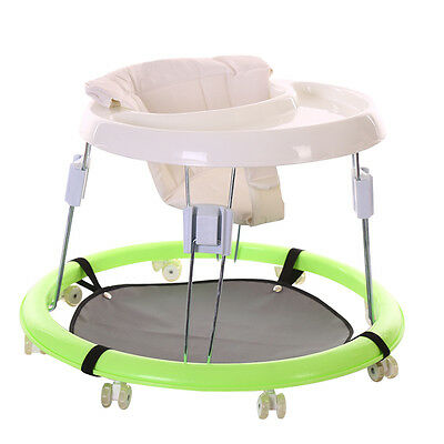 Breathable Unisex Baby Sit-to-Stand Learning Walker Cart With Rubber Wheels YR
