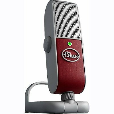 BLUE RASPBERRY RED Premium Mobile USB Microphone 836213000328 F45