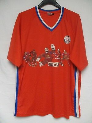 Maillot hockey RUSSIE RUSSIA rouge joueurs shirt jersey L