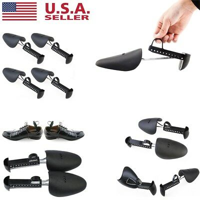 2/6Pairs Form Plastic Shoes Tree Keepers Support Stretcher Men Women Shoe Shaper