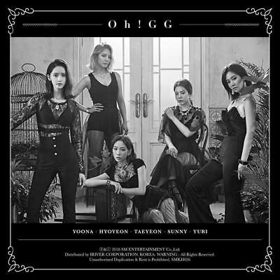 GIRLS GENERATION OH! GG YOU DON'T KNOW Single Album KIHNO Kit+POSTER+Card SEALED