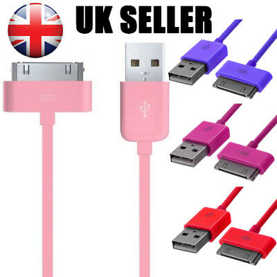 1M USB Charger Data Sync Charging Cable Lead For iPhone 4 4S iPad 3 2 iPod Touch