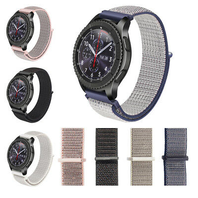 Woven Nylon Sport Loop Sport Band Strap For Samsung Gear S3 Sport Classic Watch