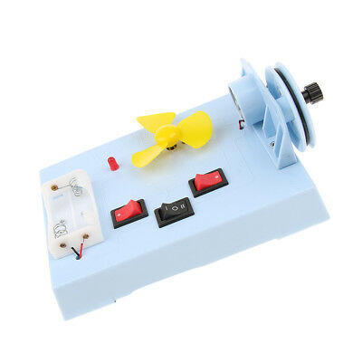 Mechanical Wind Energy Electricity Power Conversion Science Educational Toy