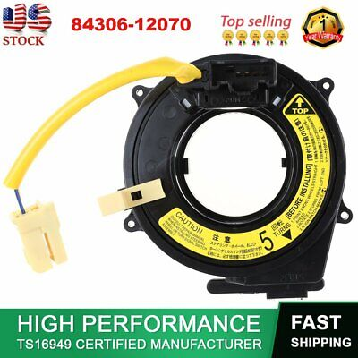 84306-12070 Spiral Cable Clock Spring For Toyota Prius Celica 4Runner Hiace NEW