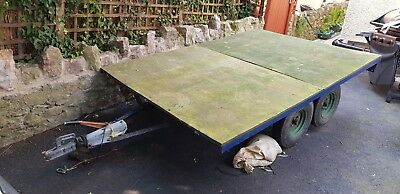 Flat Bed trailer 8ft x 5ft 6 ins