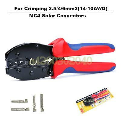 LY-2546B MC4 Solar Connectors Plier Crimping Tool for 2.5/4/6mm2(14-10AWG)